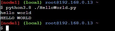 HelloWorld.pyの実行結果